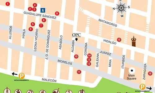 ArtWalk Map  Download it at: www.vallartaartwalk.com