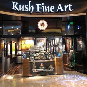 Kush Fine Art gallery in Forum shops Las Vegas