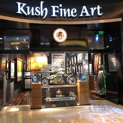 Kush Fine Art gallery in Forum shops Las Vegas