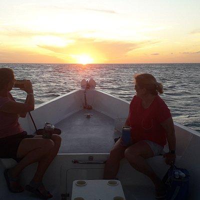 Private boat sunset boat aruba best choice!