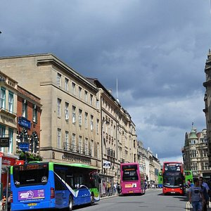 Buses on High Street, Oxford