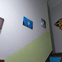 the stairways to the children gallery
