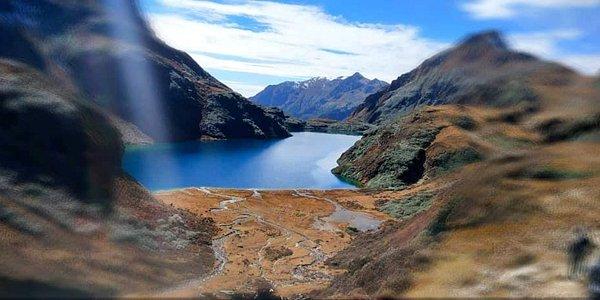 The heaven on earth, Om Tsho  On the trek to Snowmen trek you will come across Om Tsho, a sacred lake where the revered Treasure reveler , Pema Lingpa has discovered multiple of religious relics