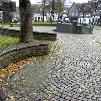 Der Schützen Platz in Schmallenberg.