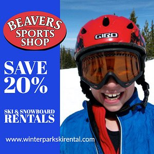 Save 20% on your ski and snowboard rentals with Winterparkskirental.com