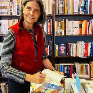 Signing my novel at Readers' Books in Sonoma, CA.
