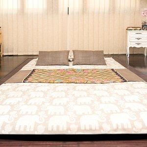 Sala futón para masaje thai
