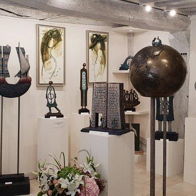 Galerie d'art Honfleur, oeuvres de Ewa Dabrowska