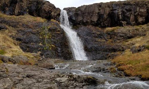 Nature's water slide.