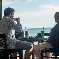 Enjoy Your Lunch while looking at the beautiful view of the Indian Ocean.