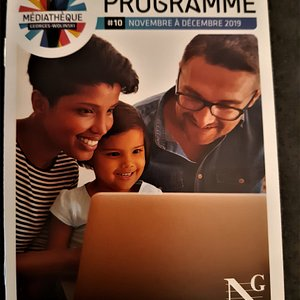 Programme médiathèque