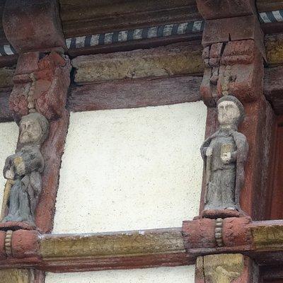 Détail de le façade
