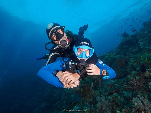 We opened Dreamers Dive Academy in order to follow our believes in the industry.... to find the balance between marine conservation, diving safety, comunity development, scuba training and marine tourism development.  We love what we do and look forward to share it with others.