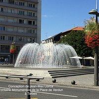 La Grande Fontaine du 5 place de Verdun à Tarbes