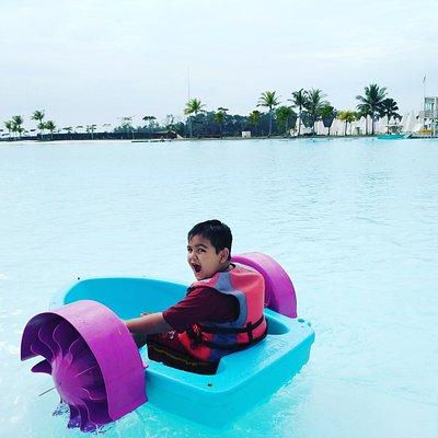 Treasurebay Bintan ( crystal lagoon)