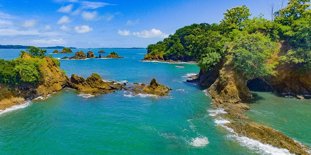 Rugged volcanic beauty and lush green rainforest - magic.