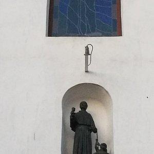 Exterior de la Iglesia.