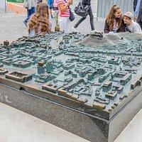 Model śródmieścia Lublany
