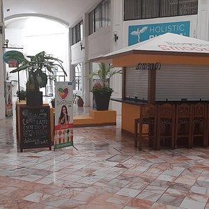 Front of Holistic Bio Spa in Puerto vallarta Mexico