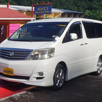 Our 7 seater vehicle is comfortable, spacious and fully air conditioned.  You ride in comfort while exploring the island.