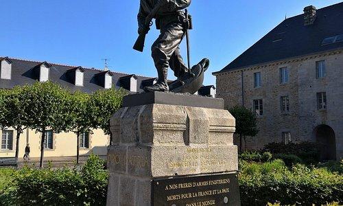 Памятник морской пехоте