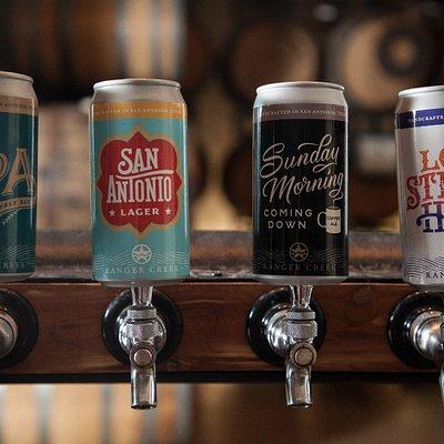 A full portfolio of delicious beers