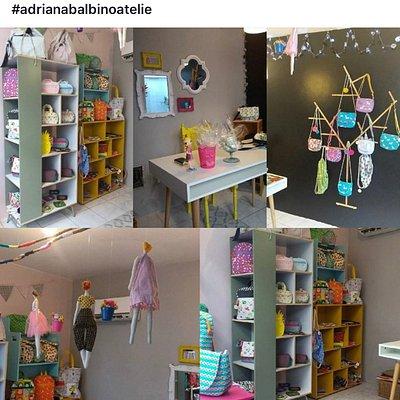 Loja super charmosa com produtos infantis feito a mão .bolsas e acessórios e vestuário infantil.