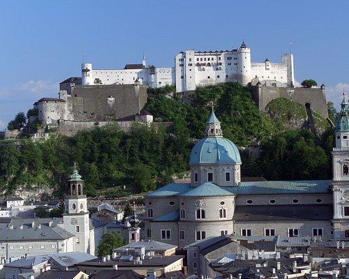Festung Hohensalzburg Aussenansicht
