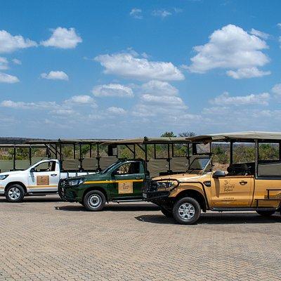 Legend Safaris vehicles