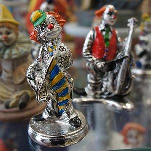 Clown aus Metall