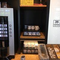 おきなわワールド内のスリーファイブコーヒー