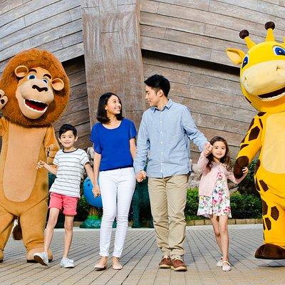 Noah's Ark Mascots