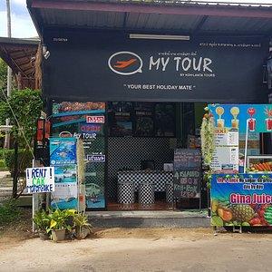 Best Tour office in Koh Lanta - front