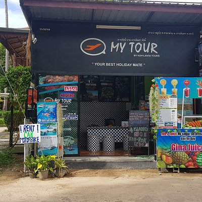 Best Tour office in Koh Lanta - front