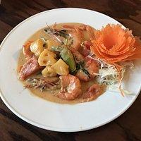 King Prawn Thai Curry
