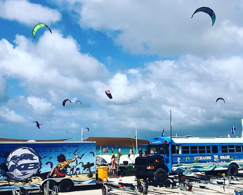 The best place to learn Kitesurf in Bonaire !!!! That's why we are the #1 kite school in the Caribbean