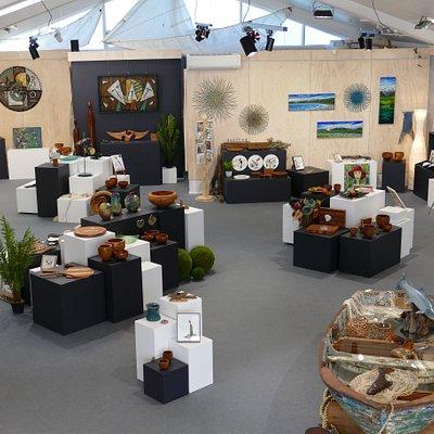 Hokitika Craft Gallery inside 1