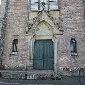 Главный портал бывшего сакрала