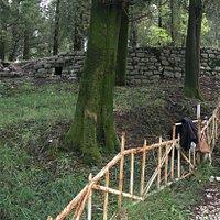 Развалины комплекса Бизанти