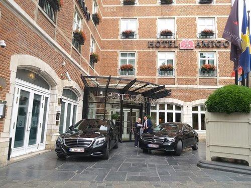 Luxury service guaranteed
