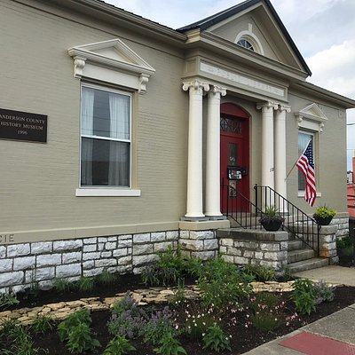 The Anderson County History Museum is located inside a former Carnegie Library, built in 1908, and also houses the Lawrenceburg/Anderson County Tourism office.