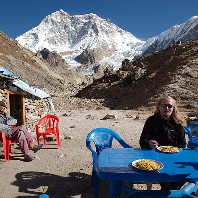Our guest AT mAKALU bASE CAMP
