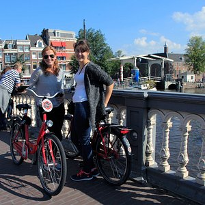 Rent a bike to make the most of your visit to Amsterdam.