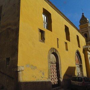 la chiesa di Santa Margherita come si presenta esternamente