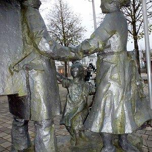 Handelsmann - Denkmal. Vor der Pforte Winterberg.