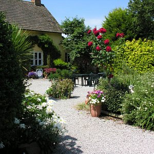 Front pathway to the Farmhouse