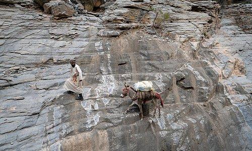 on Western Hajar Traverse www.hajarhiking.com
