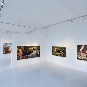 Ausstellung Susannah Martin JUST NATURE im Kunstforum der TU Darmstadt