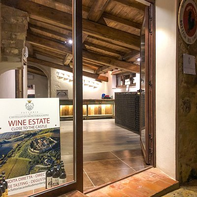 Wine Shop - Fattoria Castello di Monteriggioni - Ingresso