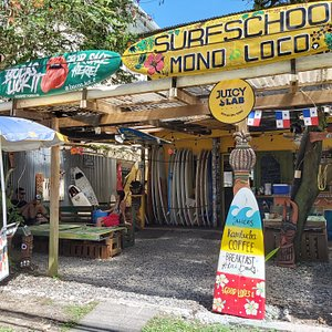 Our Surf School in Bocas Town !
